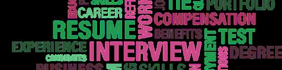 Resume wordcloud
