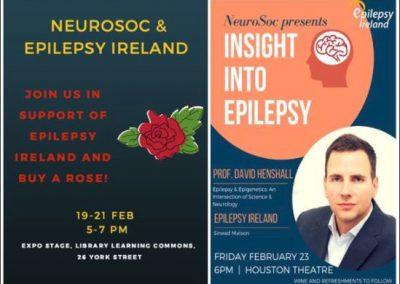 Professor David Henshall speaks at RCSI Insight into Epilepsy Event