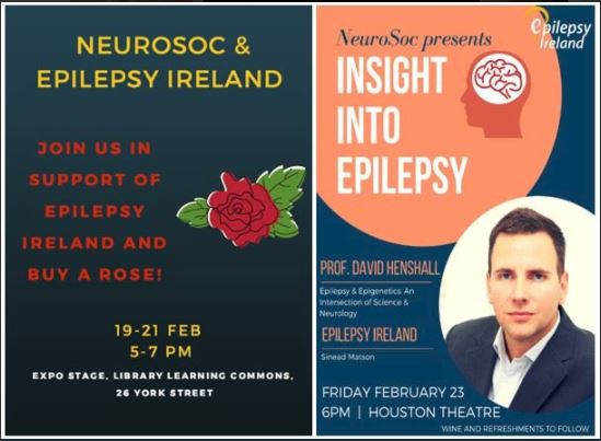Professor David Henshall speaks at RCSI Insight into Epilepsy Event