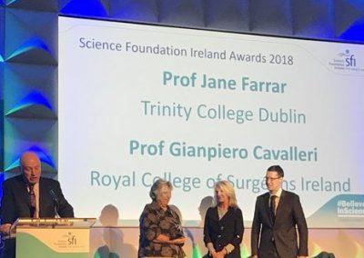 FutureNeuro Deputy Director receives SFI Best Reported Impact Award at SFI Summit
