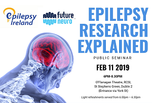 Public Seminar 11th February – Epilepsy Research Explained