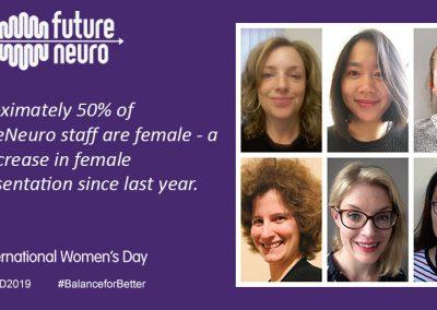 FutureNeuro: Balance for Better on International Women's Day
