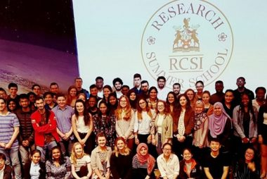 IMage of RCSI Summer student group