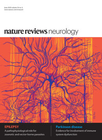 Nature Reviews Neurology microRNA's cover
