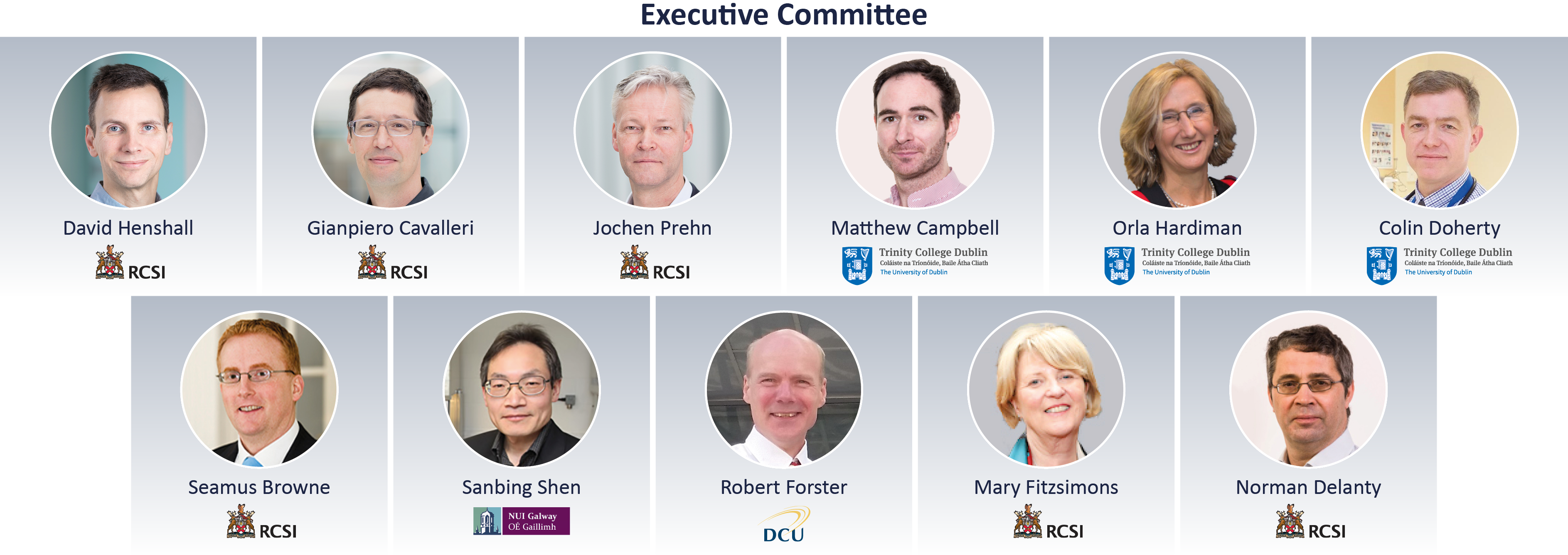 FutureNeuro Executive Committee
