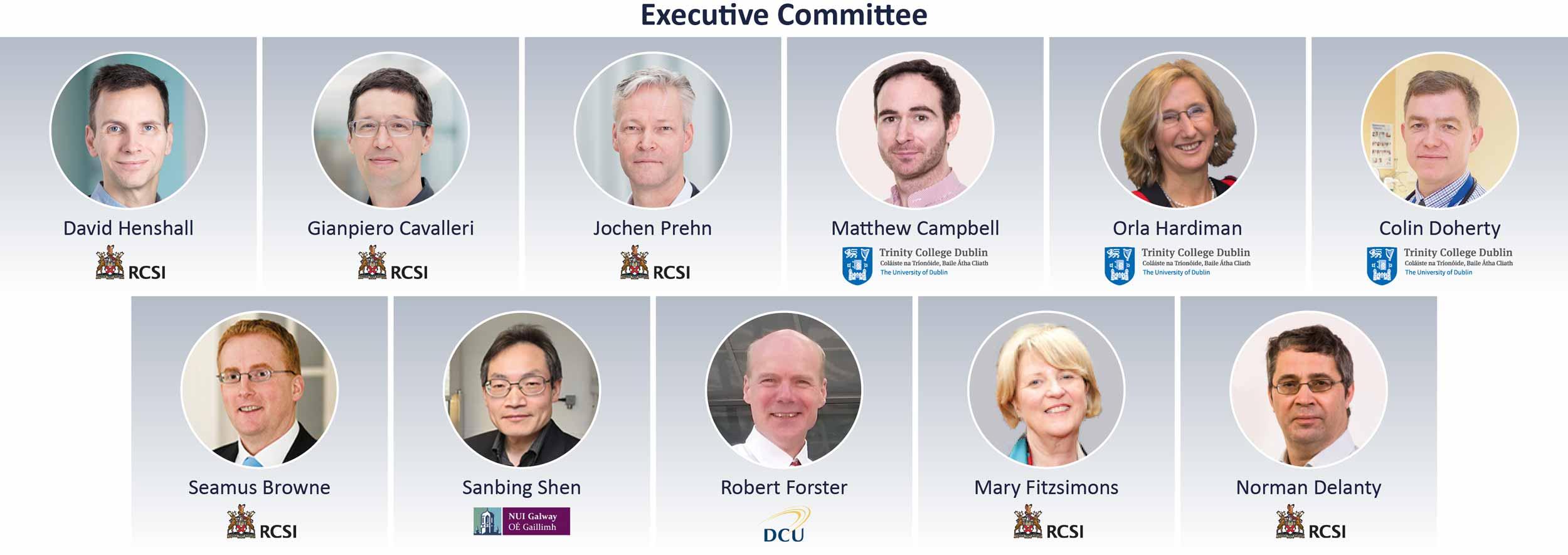 FutureNeuro Executive Committee