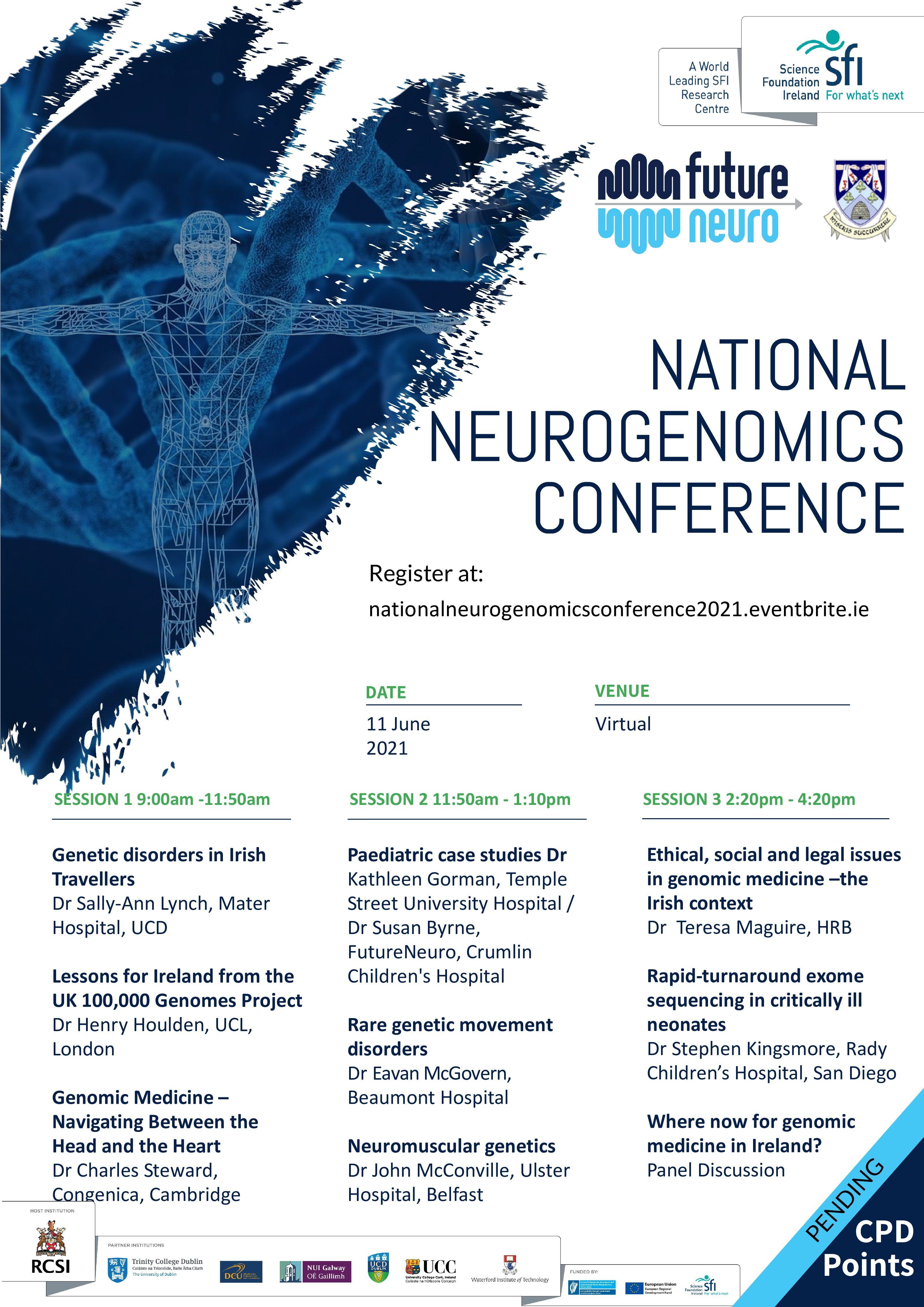 FutureNeuro Hosts National Neurogenomics Conference